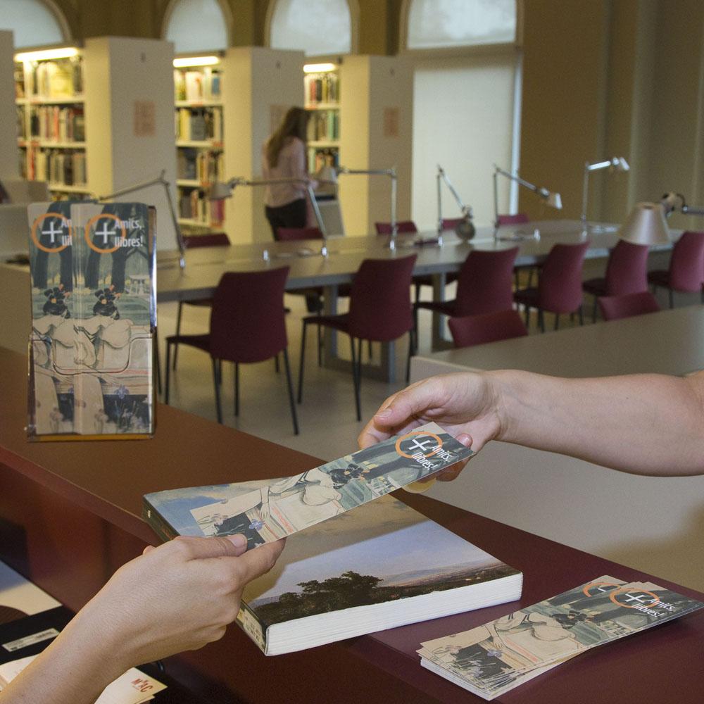 Biblioteca MNAC Campanya Micromecenatge
