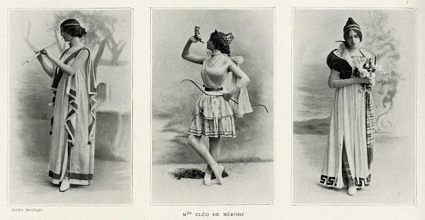 Dancer Cléo de Mérode
