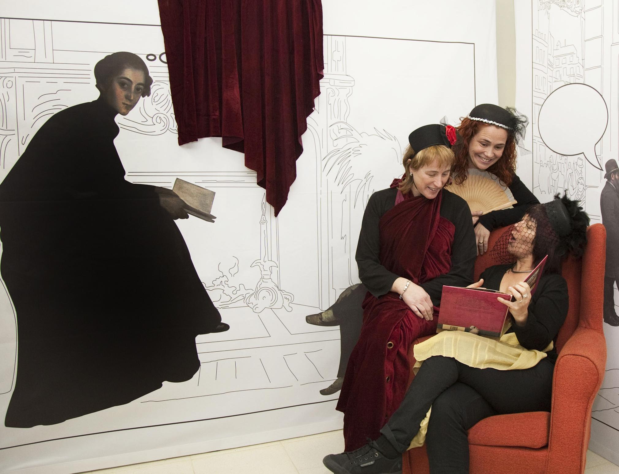 Reinterpretant Santiago Rusiñol al museu