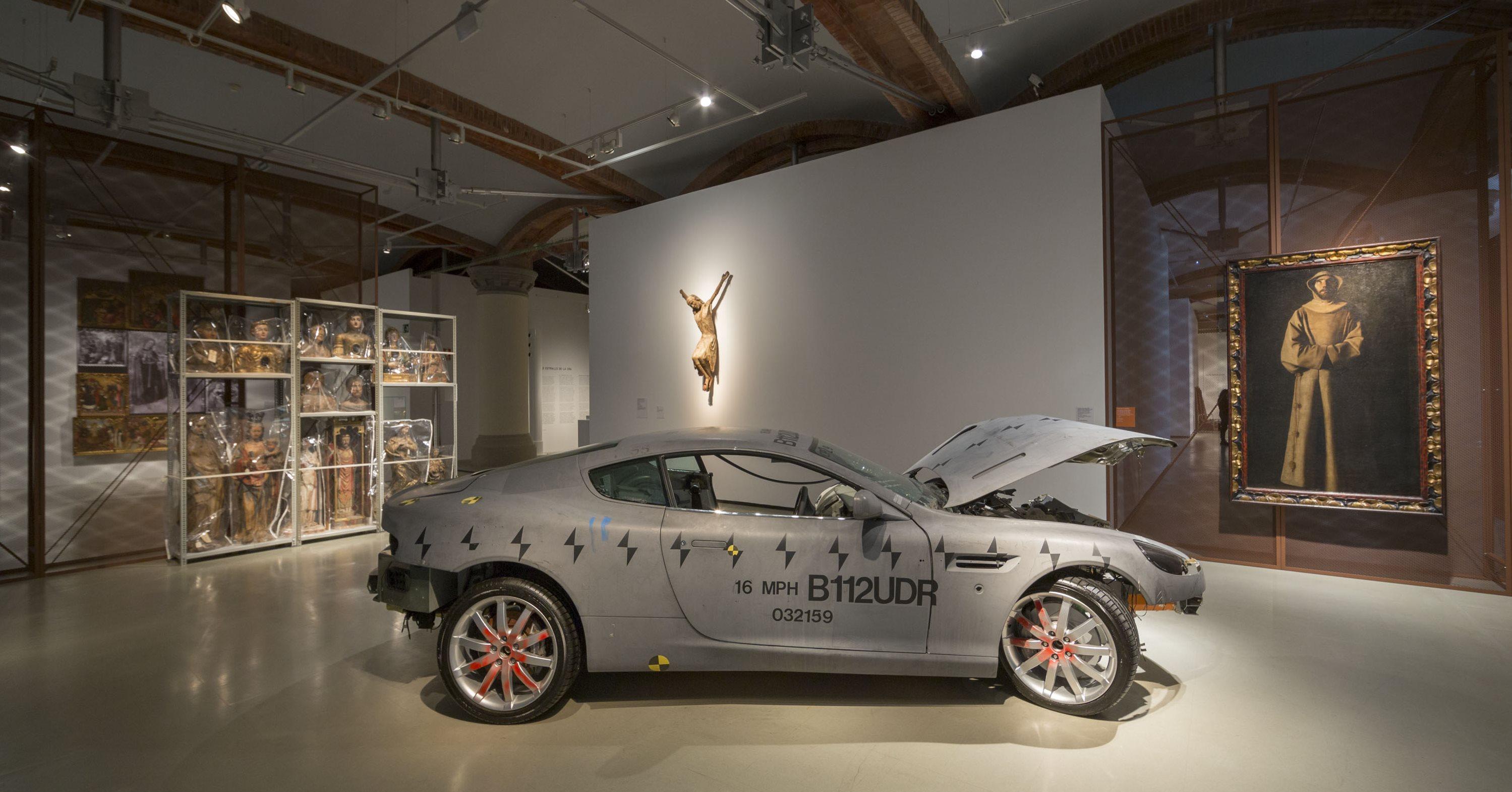 Una manera trencadora de posar l'art en valor, exposició Francesc Torres