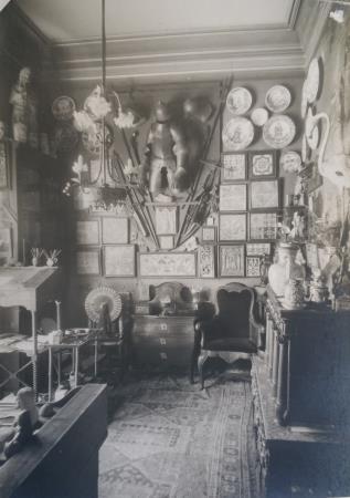 Casa estudi d'Apel·les Mestres, 1936, Institut Amatller d'Art Hispànic