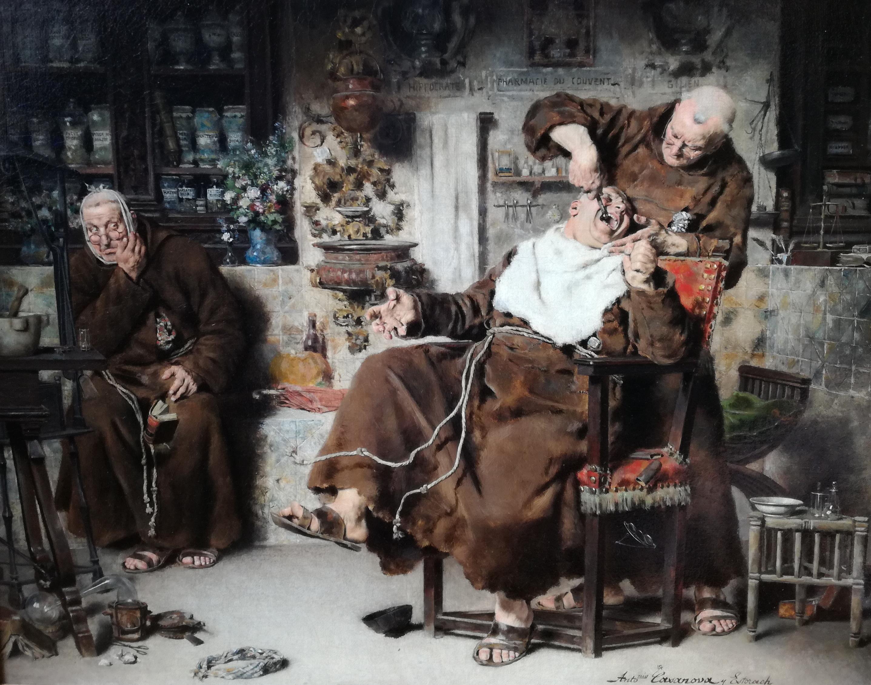 Antoni Casanova Estorach, Dentista Franciscà, 1881. Col·lecció particular