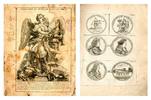 Claude François Menéstrier, Histoire du roy Louis le Grand par les medailles [...] París, 1693, Reial Acadèmia de Ciències i Arts de Barcelona