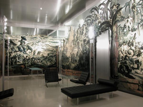 Series of 50 panels from the dance hall of the residence of Sir Philip Sassoon, in Park Lane (London). Work of Josep Maria Sert