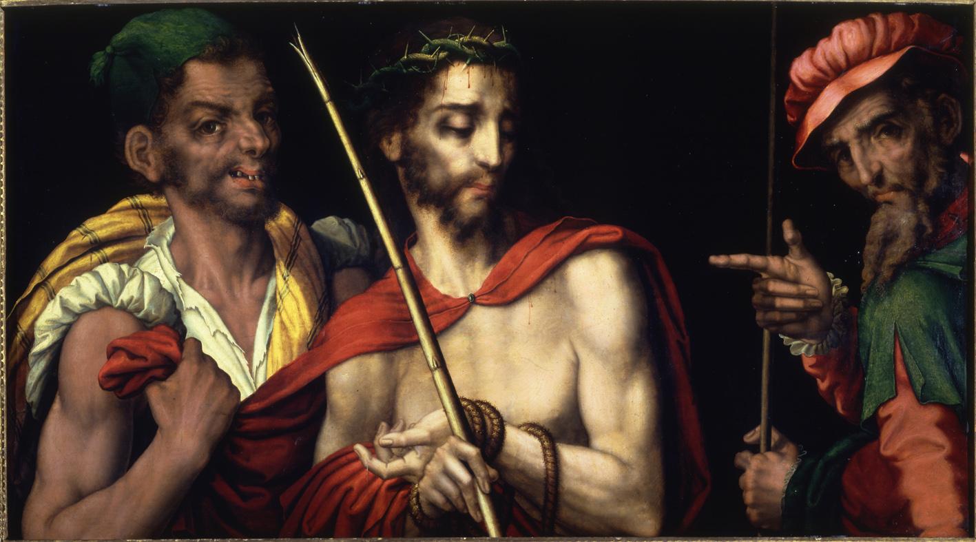 Crist presentat al poble. Real Academia de Bellas Artes de San Fernando