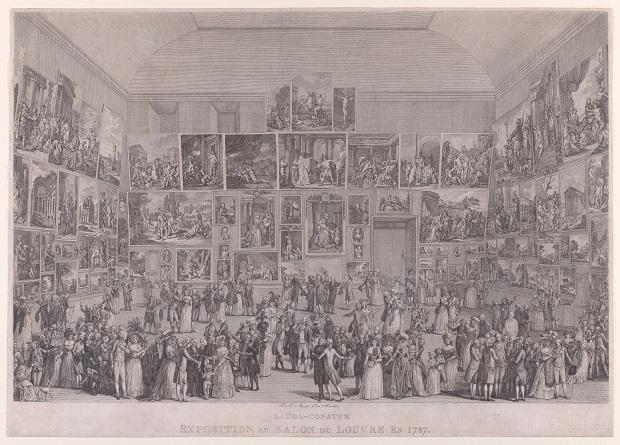 Pietro Antonio Martini. Exposición en el Salón del Louvre (1787). The Metropolitan Museum of Art