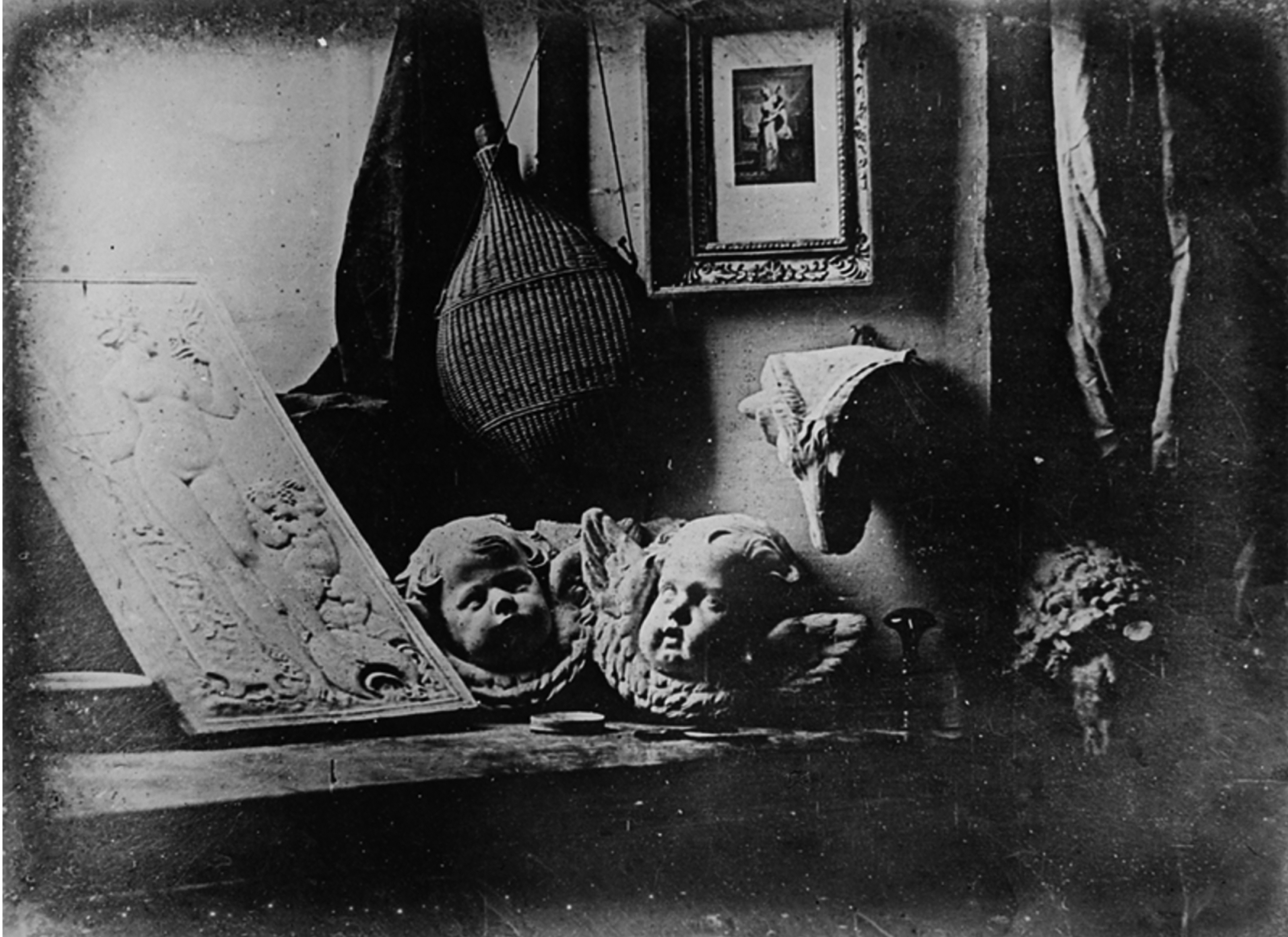 Daguerreotip. Daguerre_Atelier_1837