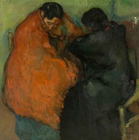 Isidre Nonell, Dues gitanes, 1903