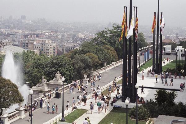 El Palau Nacional l'any 1992