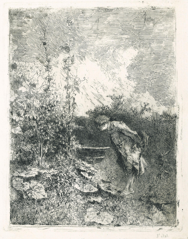 Marià Fortuny, El Botànic, cap a 1868-1869