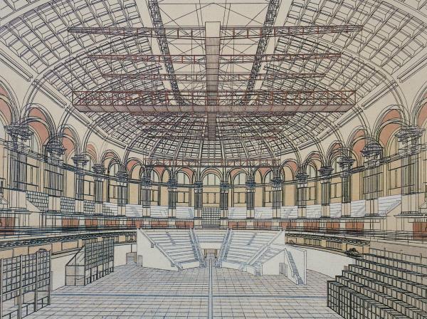 Architect Gae Aulenti's new Project leaves free mucho f the Grand Salon