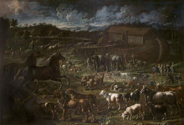 Cajetan Roos, Entrada dels animals a l'arca de Noè, cap a 1720