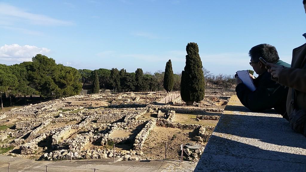 Visita a les ruïnes arqueològiques d'Empúries. Foto: Conxa Rodà