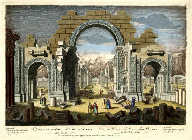 Entrada al Temple del Sol de Palmira, 1756 ©The Trustees of the British Museum
