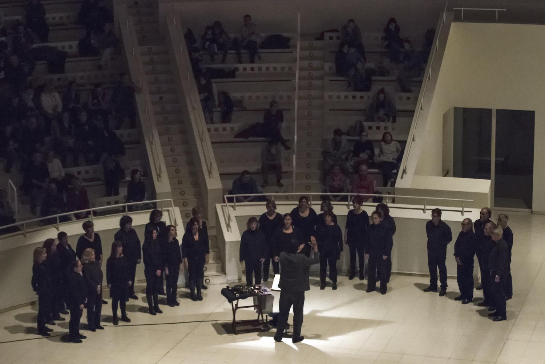 Entre dues ales, espectáculo de Èlia Llach. Foto: Xavi Arqués