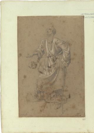 Marià Fortuny, Estudio académico de mendigo, hacia 1856-1858