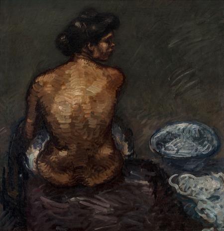 Isidre Nonell, Estudi de nu, 1907. Col·lecció particular