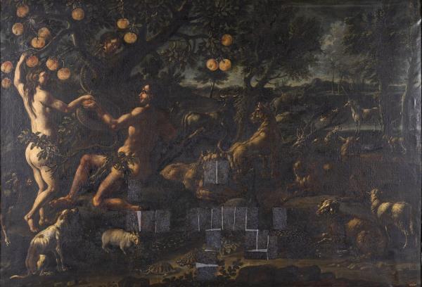 Cajetan Roos, Eva tempta a Adam amb la poma, cap a 1720