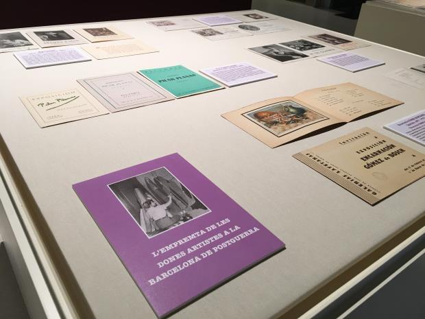 """Exposició """"L'empremta de les dones artistes a la Barcelona de postguerra"""""""