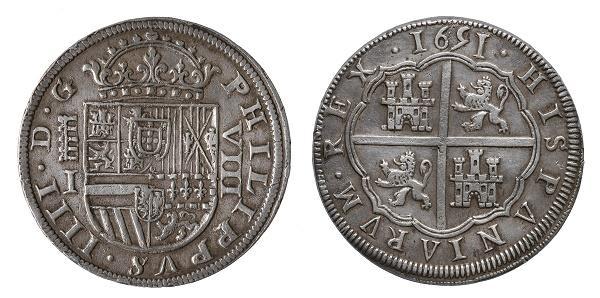Philip IV. 8 rals of Segòvia, 1651