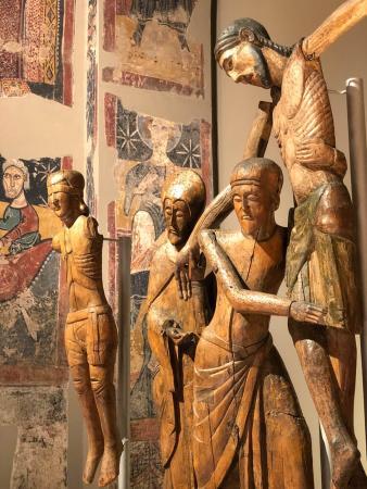 Figures del Davallament de Santa Maria de Taüll, segona meitat del segle XII – segle XIII