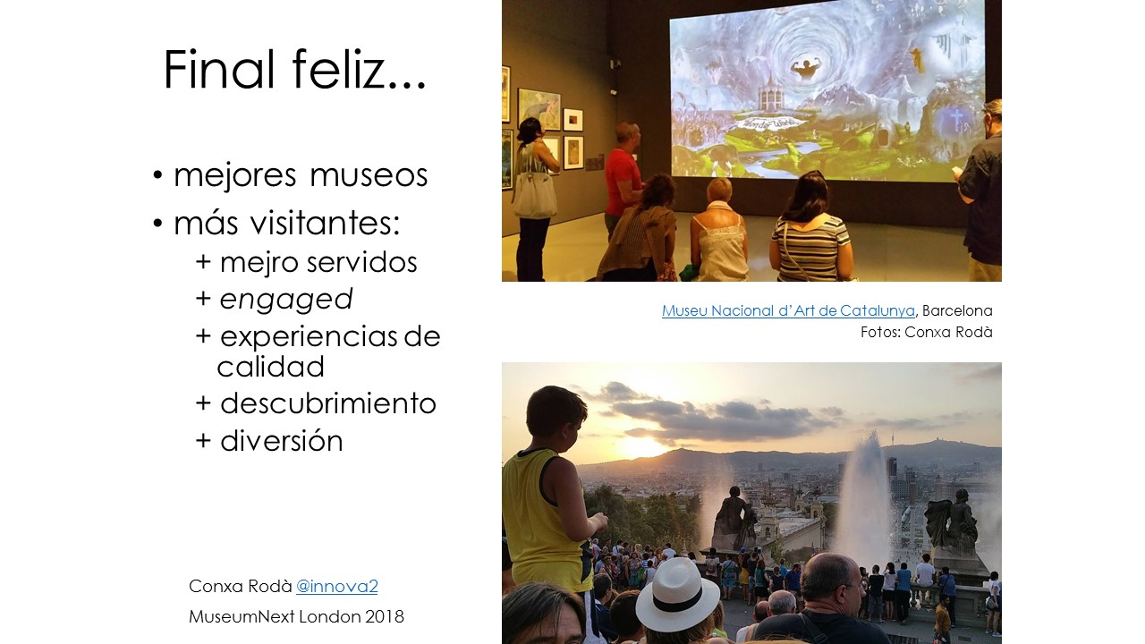 Mejores museos, más visitantes