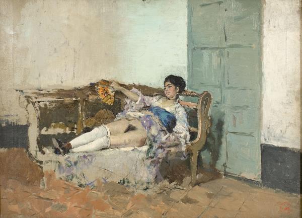 Mariano Fortuny, Carmen Bastián, hacia 1871-1872