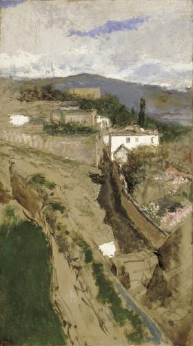 Marià Fortuny, Granada Landscape, around 1871
