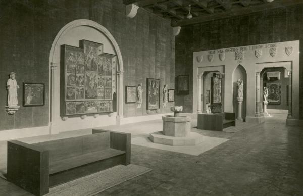 The new facilities of the Museu d'Art de Catalunya by 1934