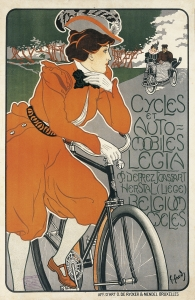 Georges Gaudy. Cycles et Automoviles Legia, 1898.