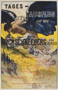 Anònim. Tages-Ausflug auf den Hochschneeberg und Zurück, 1899.