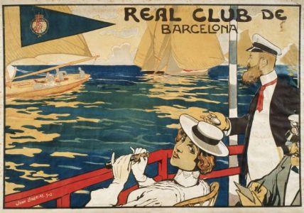 Joan Llaverias. Real Club de Barcelona, 1902.