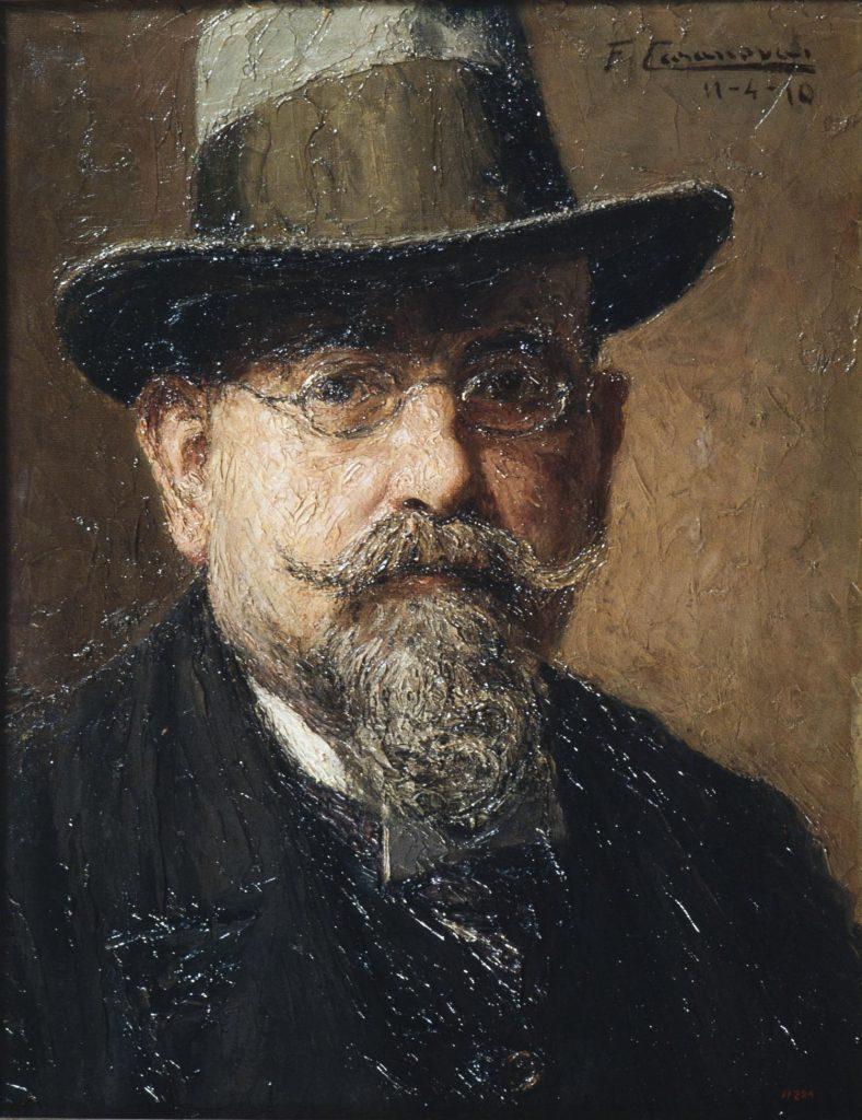 Francesc Casanovas i Gorchs. Autoretrat, 1910