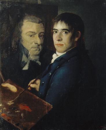 Francesc Lacoma, Self-portrait, 1805