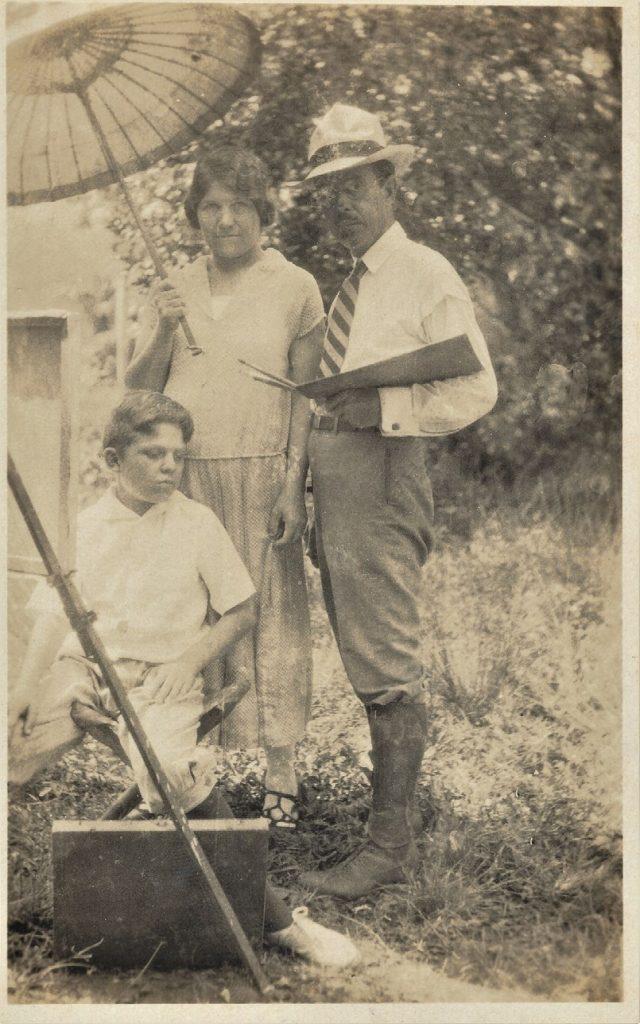 Francesc Pausas i família, La Havana, 1927