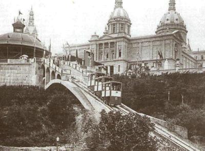 Funicular of the Palau Nacional