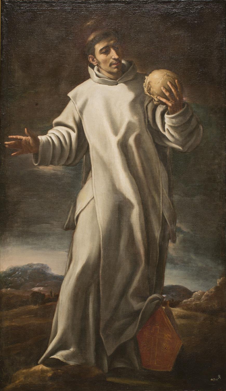Atribuido a Cristóbal García Salmerón, San Bruno, entre 1650- 1660