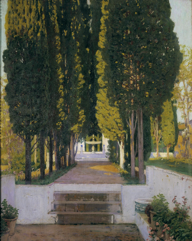 Santiago Rusiñol, Jardín del Generalife, 1909