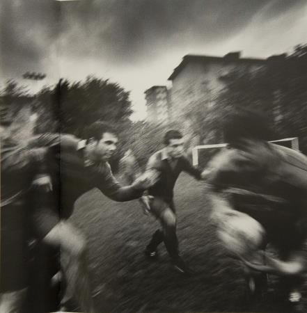 Giorgia Fiorio, Allenamento della squadra Alessandria Rugby. Alessandria, 2002. Museu Nacional d'Art de Catalunya