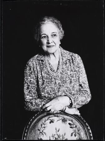 Glòria Salas, Retrato de una dama, 1971. Museu Nacional d'Art de Catalunya