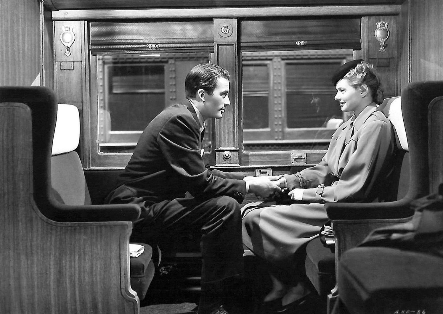 Gregory Peck i Ingrid Bergman a Spellbound