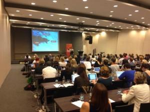 Opening ConfabEU keynote by Kristina Halvorson. Photo: Erik M Hartman