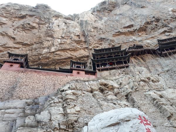 Temple penjant, Mont Heng, Datong. Data de 1.500 anys