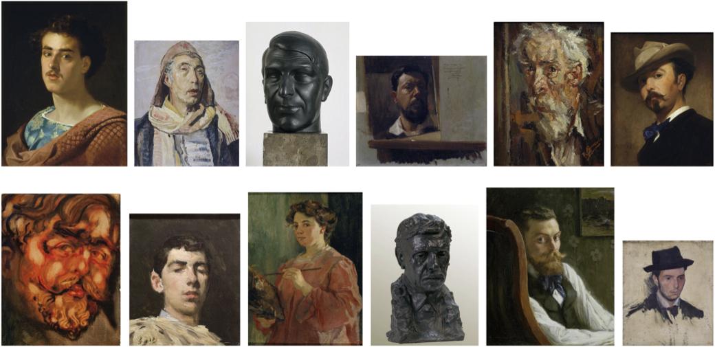 Àmbit. L'artista modern. Retrats i autoretrats