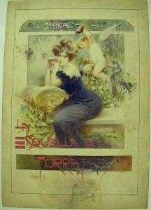 Aleardo Villa, portada del Almanac de L'Esquella de la Torratxa per a 190 , 1905 (0 73329-D)