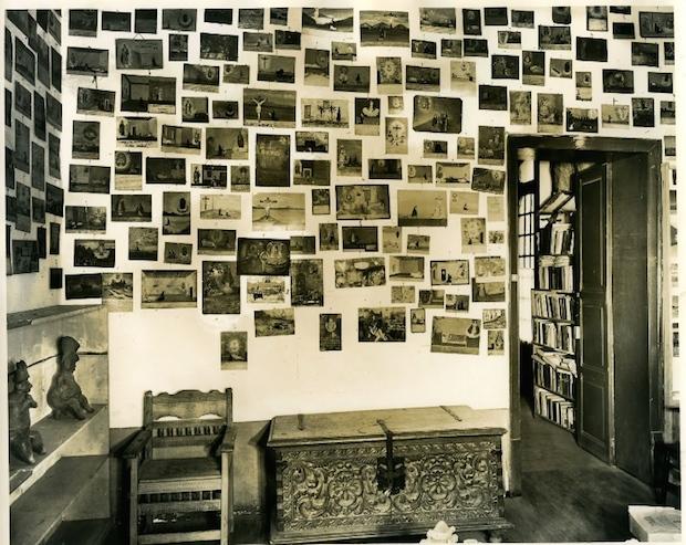 Guillermo Zamora, Exvote from Frida Kahlo, 1950. Blaiseten Collection. Mexico