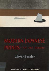 Statler, O. Modern japanese print: an art reborn.  Rutland: Charles E. Tuttle Co., [1956]. Fondo: Biblioteca Joaquim Folch i Torres