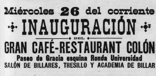 . Diari La Publicidad (25 de maig de 1897). Font: ARCA