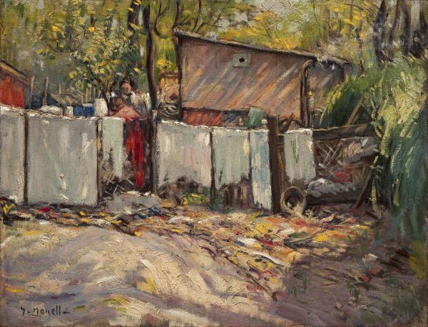 Isidre Nonell, Suburbi, 1895. Col·lecció particular