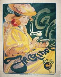 Fernand Touissant. Café Jacqmotte. 1897.